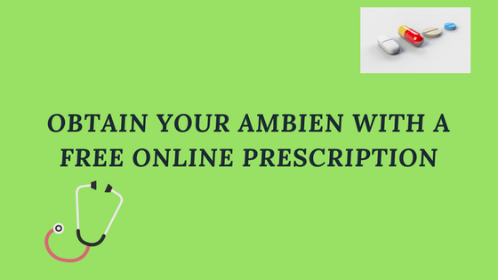 ambien with free online prescription